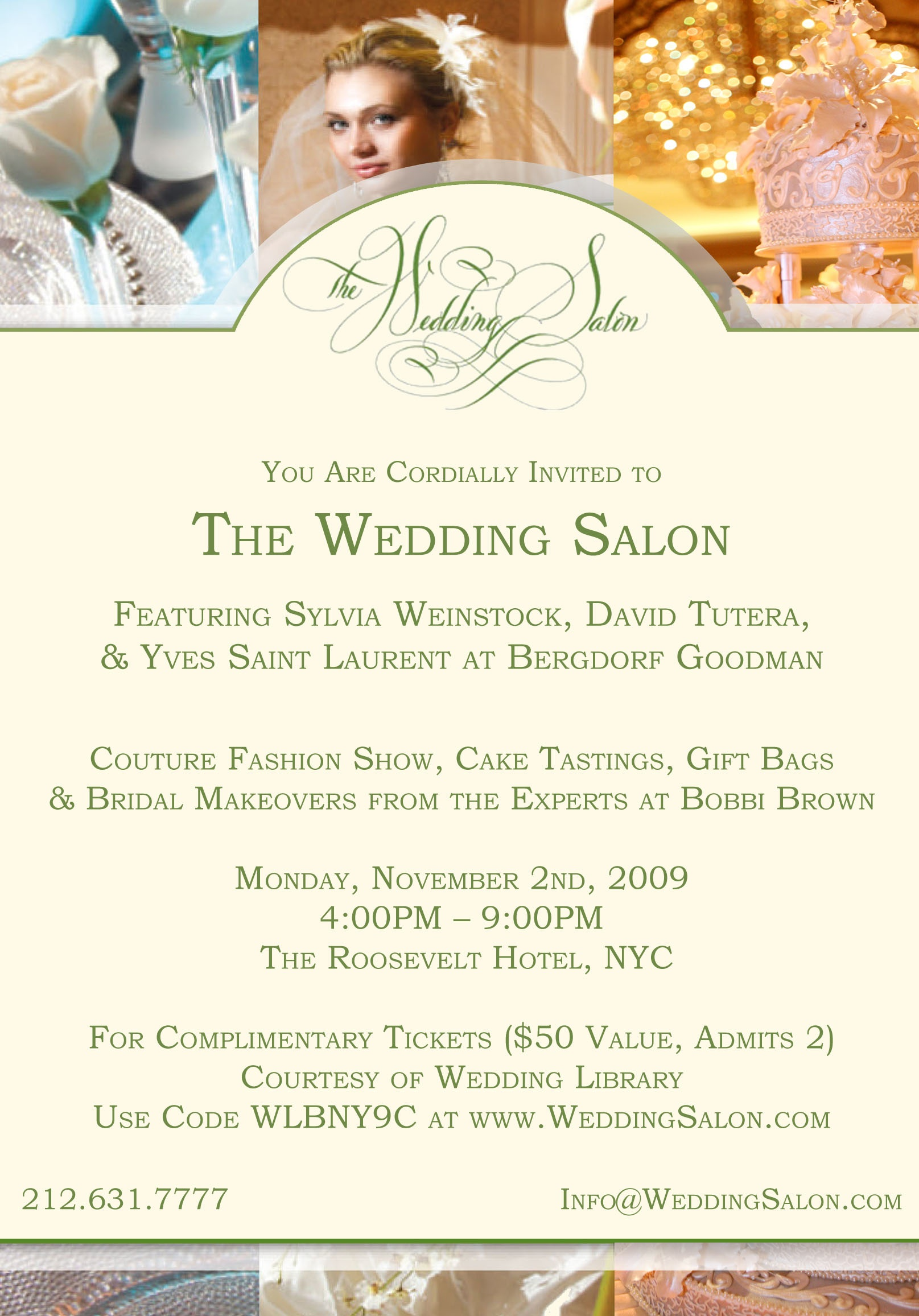 Wedding Salon Free Tickets