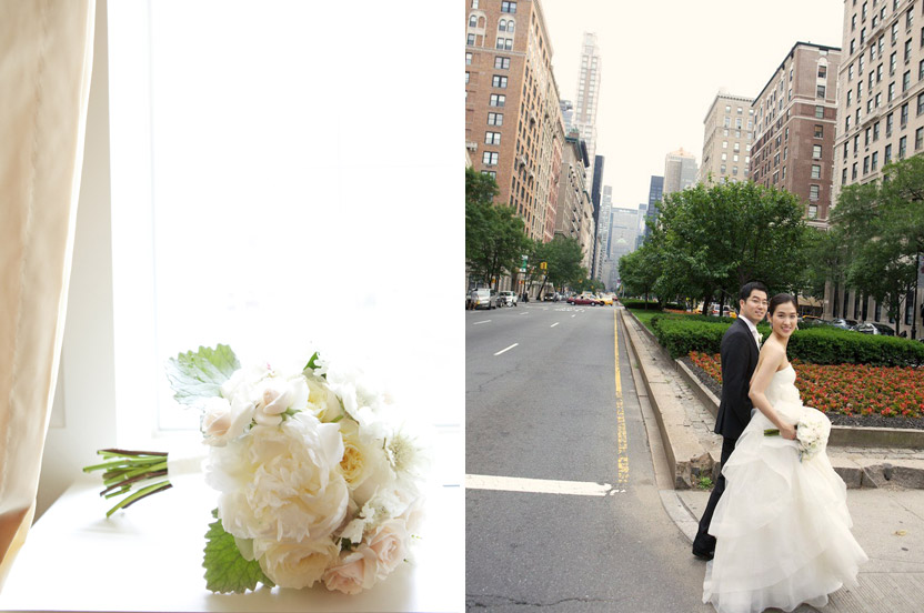 This transplanted Korean couple wanted guidance on throwing an ultra-elegant New York City affair.  I helped them with everything from choosing a location to picking all the vendors and the invitations.
