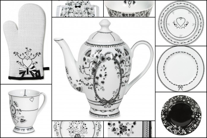 Wedding Library Collections is pleased to welcome Miss Blackbirdy to our stable of dinnerware vendors.