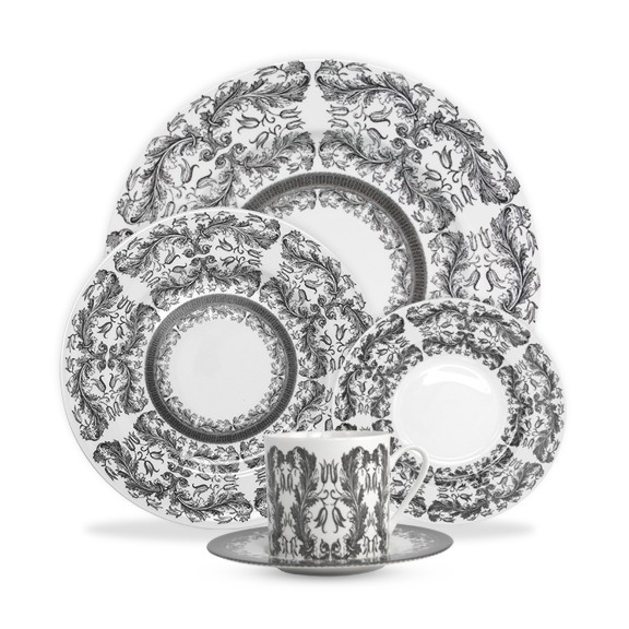 Caskata Yorkshire Hedgerow 5-piece Place Setting