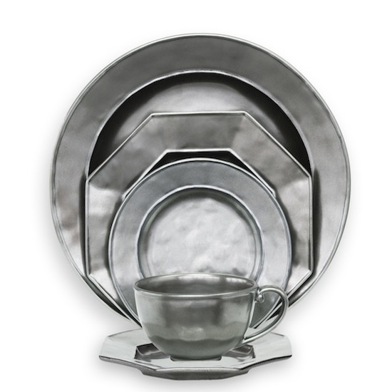 Juliska Pewter 5-piece Place Setting